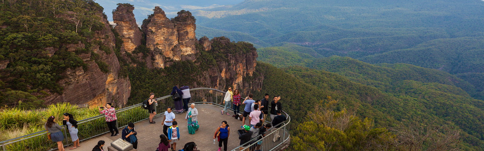Echo Point Lookout, Blue Mountains Australia