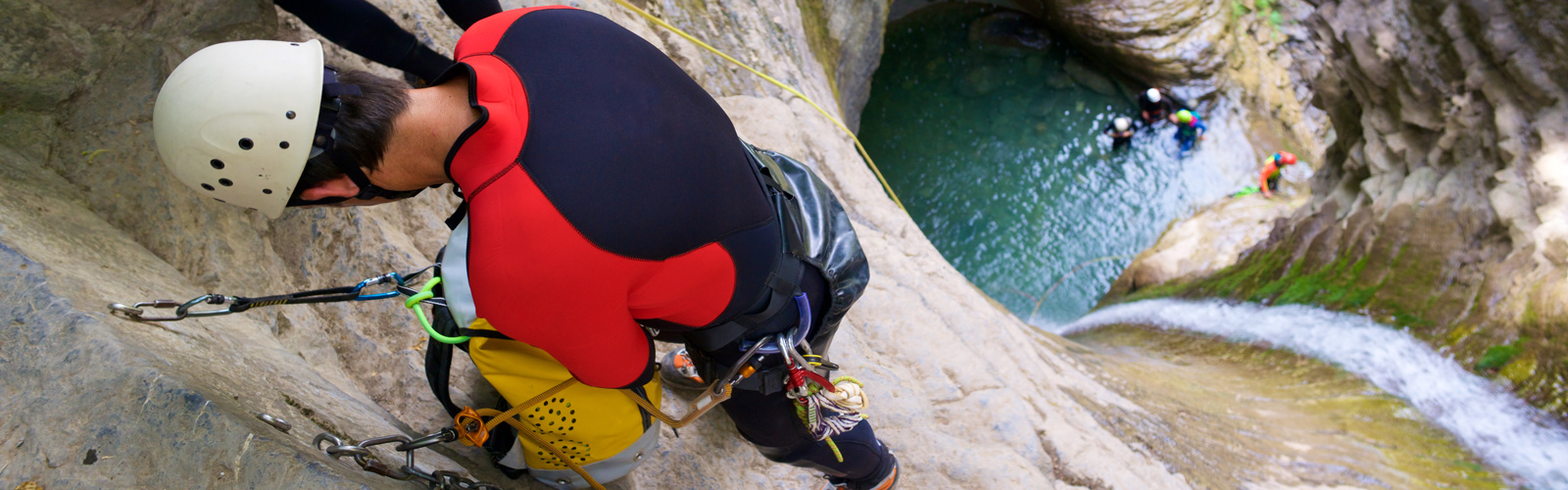 Canyoning in the Blue Mountains, Australia